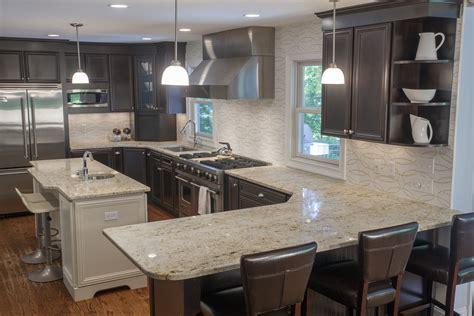 granite kitchen tops colours top 5 light color granite countertops