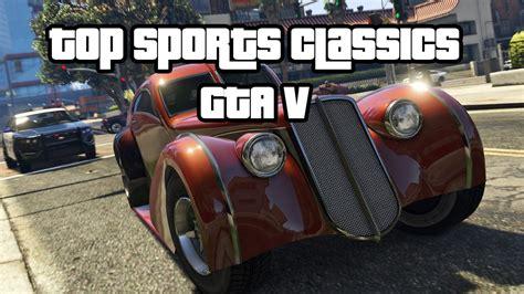 top   fastest sports classics cars racing gta