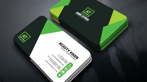 Business Card Design Green New Adobe Illustrator Tutorial App For Business Cards Iphone Free Software To Make And Flyers Maker Download Mini Nz Sample Canada Fast In American Psycho Apple