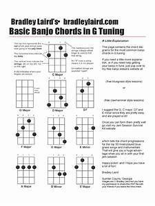 2020 Banjo Chord Chart Template Fillable Printable Pdf