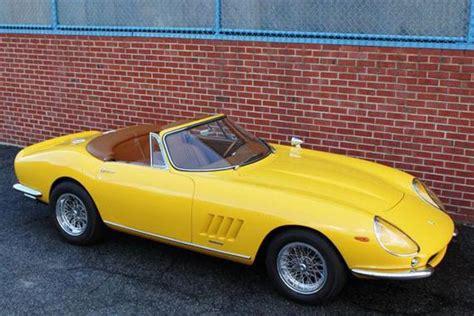 The nart spider was born of a direct request from ferrari's north american dealer luigi chinetti to sergio scaglietti and enzo ferrari; 1967 Ferrari 275 GTB/4 NART Spyder Conversion for sale in Emeryville, CA
