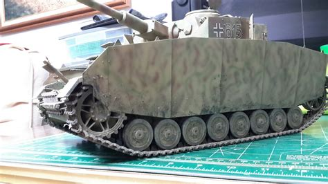 trumpeter  panzer iv type  ready  inspection
