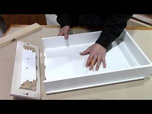 How to fix a broken kitchen drawer - bathroom pull out ...