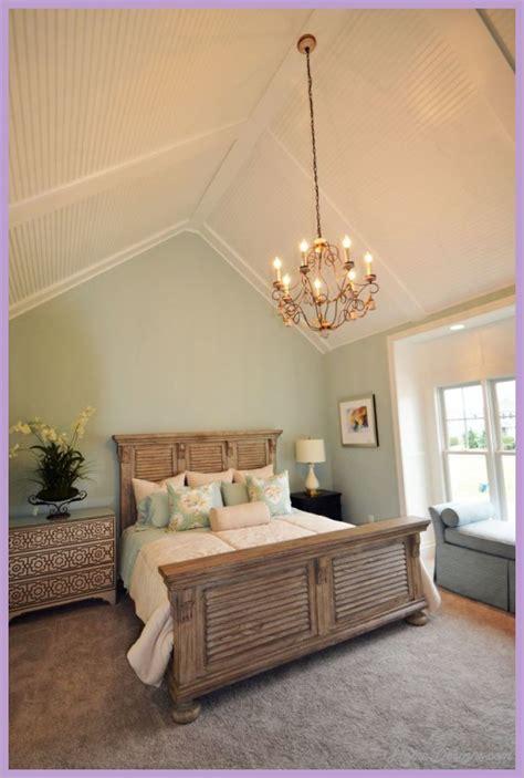 bedroom lighting ideas vaulted ceiling homedesignscom