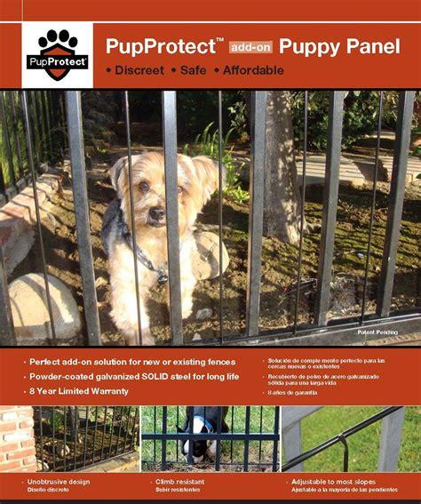 puppy panels  puppy bars  iron  aluminum fence