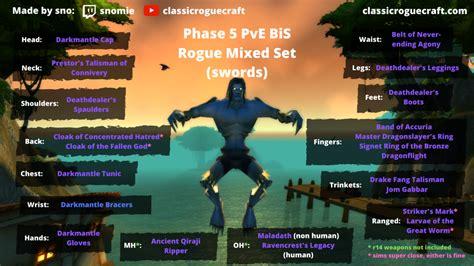 bis p5 rogue darkmantle gear guide dagger tier wow classic sword daggers pve swords