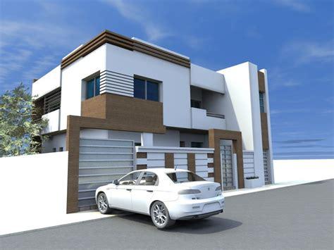 plan de villa moderne en tunisie rponse maison maison moderne rle maison moderne maison with