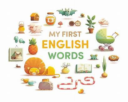 English Words Alena Tkach Children Books Educational