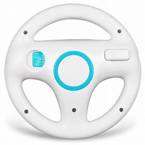 Mario Kart Switch Occasion : blanc volant sport steering wheel pour nintendo wii mario ~ Melissatoandfro.com Idées de Décoration