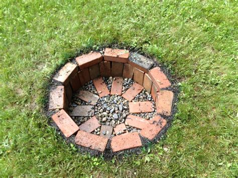 Fire Pits : Garden Finance Step-by-step Build Your Own Fire Pit