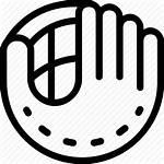Glove Baseball Icon Vectorified
