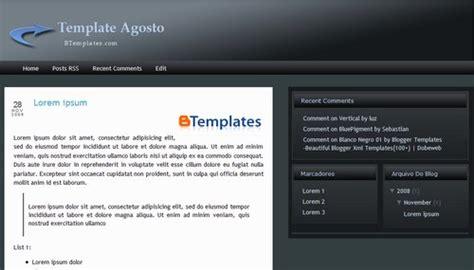 Templates 3 Columns Hola by Agosto Template Btemplates