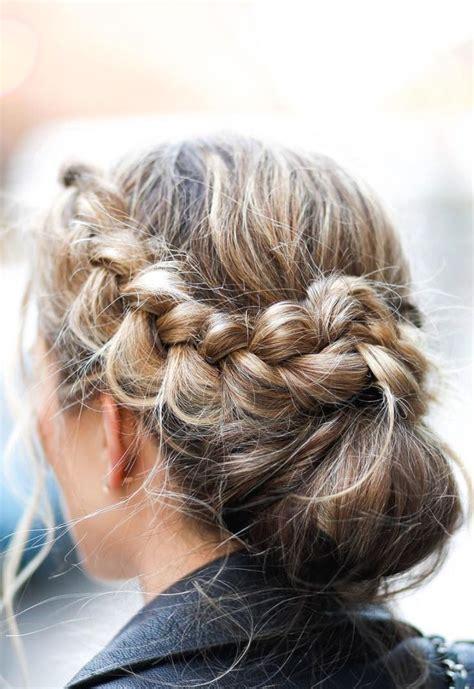 braided bun beauty inspo in 2019 hair styles braids