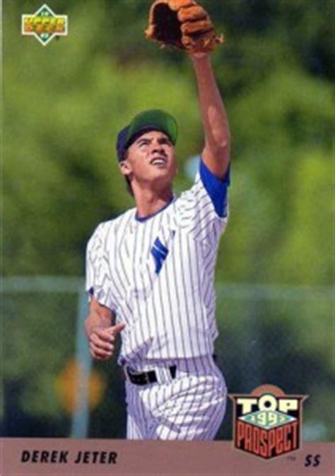 1993 Deck Derek Jeter by Best Most Valuable Derek Jeter Rookie Cards Gallery Top