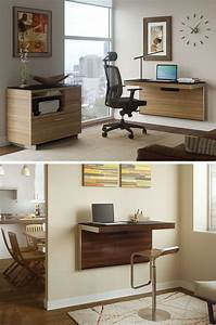16, Wall, Mounted, Desk, Ideas, That, Are, Great, For, Small, Spaces