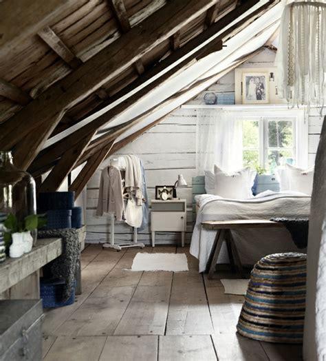 chambre sous pente de toit 1001 idées déco de chambre sous pente cocoon