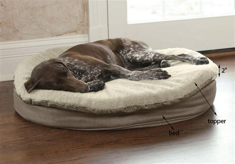 Round Memory Foam Dog Bed Topper Orvis