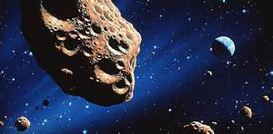 Asteroid On Collision Course With Earth Photograph by Joe ...