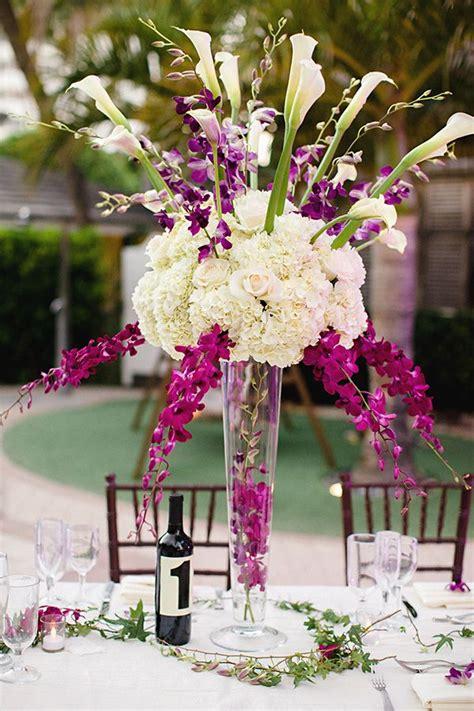 Wedding Ideas for Stunning Tall Centerpieces MODwedding