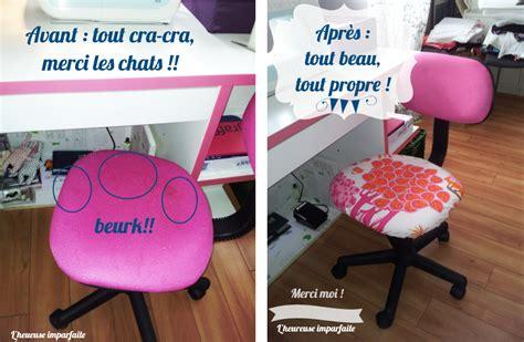 bureau bois recyclé une nouvelle housse pour chaise de bureau diy l