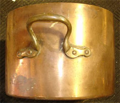 antique cookware copper pot stockpot candy making pan wagner griswold corn bread cast