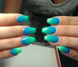 Latest nails fashion of ombre nail designs