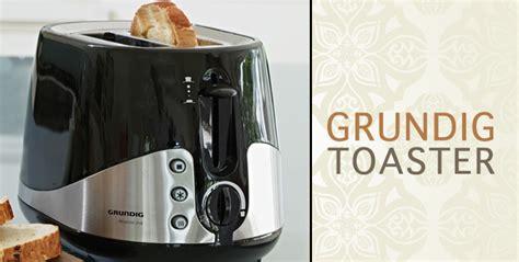 Black Grundig 2-slice Toaster