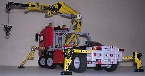 Lego Technic Camion : review lego technic 8258 camion grue ~ Nature-et-papiers.com Idées de Décoration