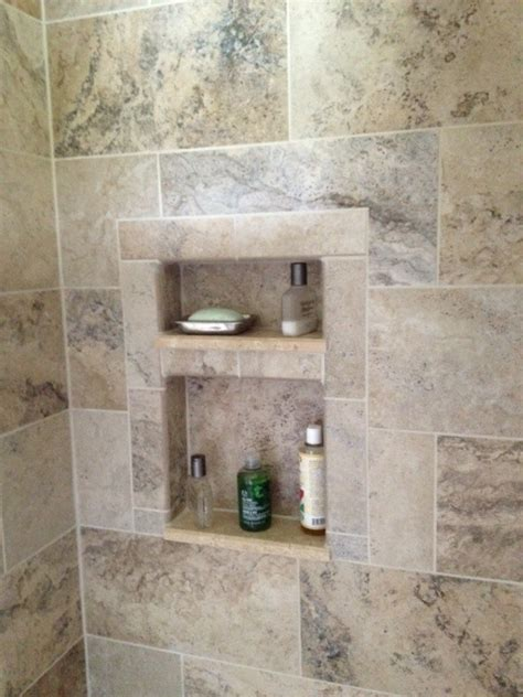 tiled shower cutouts kitchen remodel bath decor