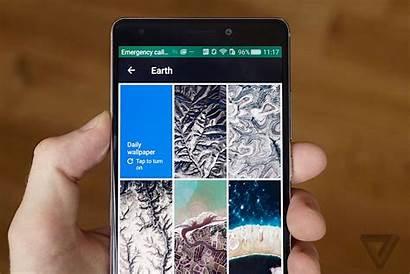 Google Wallpapers App Phone Feeling Gives Fresh