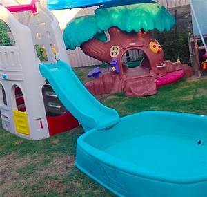 Big Baby Slide : step 2 big splash center pool big playhouse climber slide ~ A.2002-acura-tl-radio.info Haus und Dekorationen