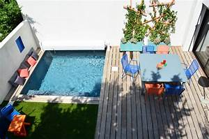 Petit jardin, mini piscine Diaporama Photo