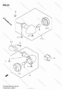Suzuki Motorcycle 2006 Oem Parts Diagram For Turn Signal Lamp