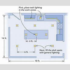 Kitchenlighting Basics  Fine Homebuilding Question
