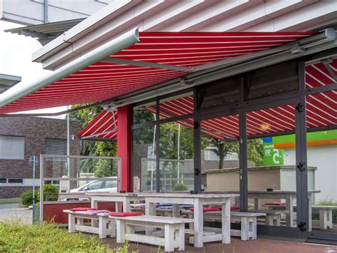 commercial retractable awnings cassette awnings for