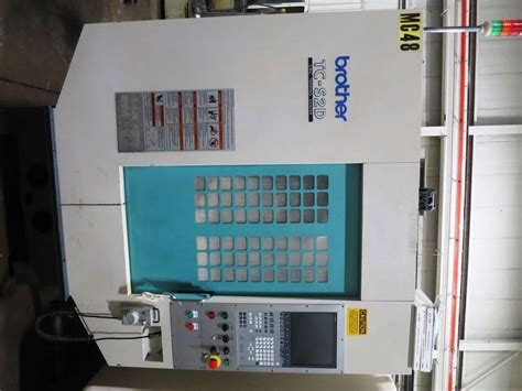 brother tc sd  axis cnc drill tap vmc nikken
