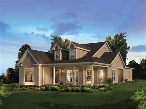 New Country Style House Plans With Wrap Around Porches