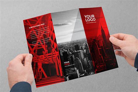 fresh simple  beautiful brochure design ideas
