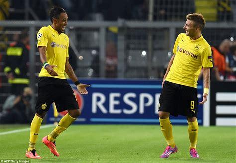 Borussia Dortmund 2-0 Arsenal: Ciro Immobile and Pierre ...