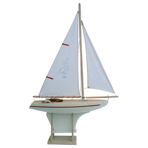 Sailing Boat Toy by Large Toy Boat 702 40cm Sold Out Little French