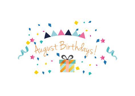 August 2018 Birthdays - Springfield Place and J.F. Hawkins ...
