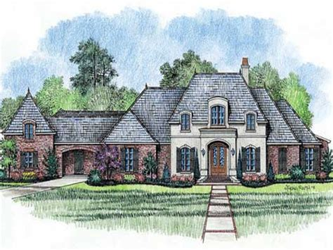 french country house plans  story french country house exteriors  story country house plans