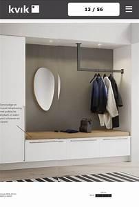 Moderne Garderobe Mit Bank : garderobe wohnung pinterest tes eingang und grau ~ Bigdaddyawards.com Haus und Dekorationen