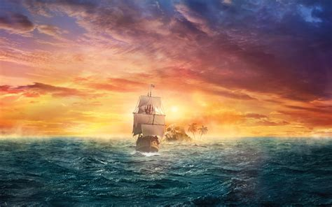 Anime Pirate Wallpaper - pirate sail hd creative 4k wallpapers images