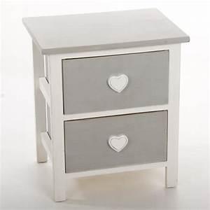 Chevet Pas Cher : table de chevet coeur achat vente pas cher ~ Melissatoandfro.com Idées de Décoration