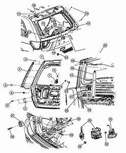 1996 Jeep Grand Cherokee Lift Gate Diagram