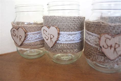 6 Best Images Of Country Wedding Ideas Mason Jars Rustic