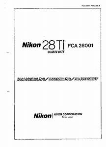 Nikon 28 Ti Qd Service Service Manual Download  Schematics