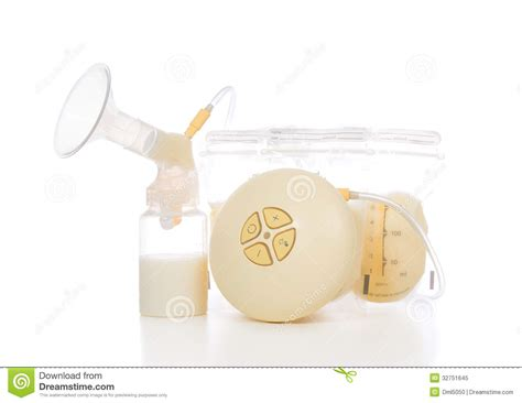 Electric Breast Pump Stock Photo Cartoondealercom 71620848
