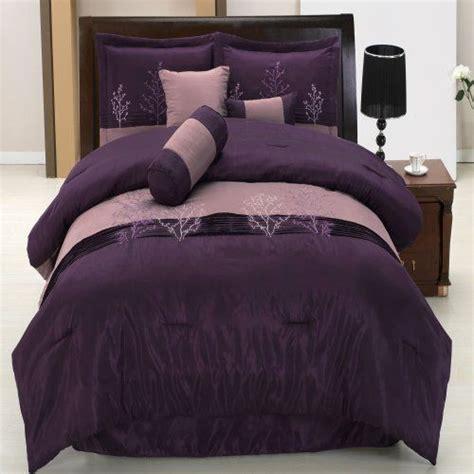 linden purple king size luxury 11 comforter includes comforter sheets throw